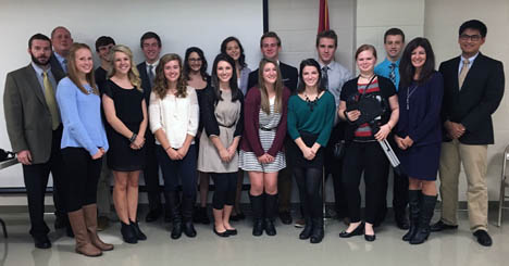 Students compete in the 2015 Constitution Project
