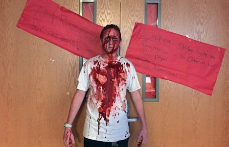 Leadership class turns RHS into a frightening fiasco
