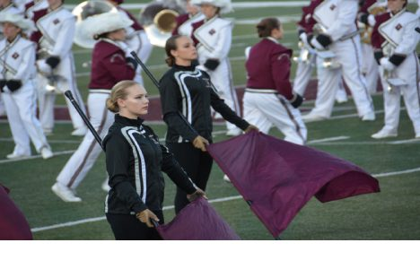 Marching Bulldog Brigade continues its winning streak at Ozarko competition last weekend