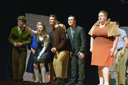'Charlie and the Chocolate Factory' opens tonight at 7 p.m. at the Middle School