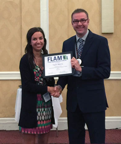 Latin teacher honored at recent convention