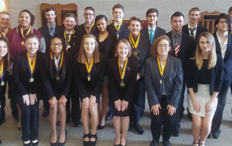 Fifteen FBLA students advanced to state competition following yesterday's district sweep