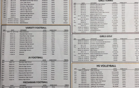Bulldogs published fall sports schedule