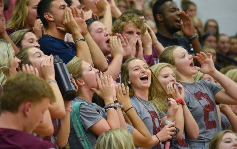 RHS kicks off football season with pep rally