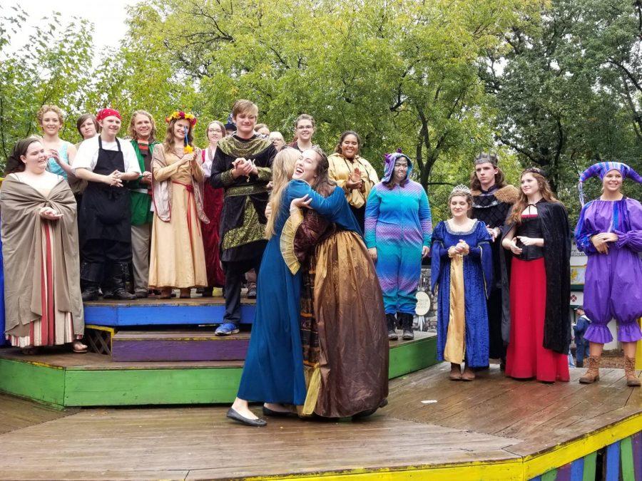 Chamber Choir performs at Kansas City Renaissance Festival
