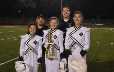 Bulldog Brigade takes first at the Screamin' Eagles band competition