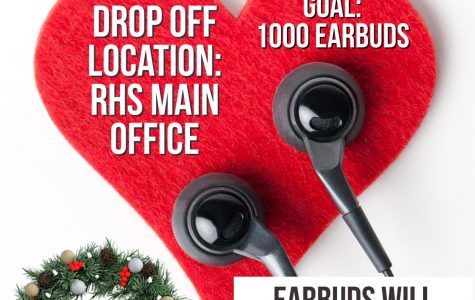 NHS helping teachers by holding earbud fundraiser