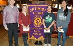 Optimist Club recognizes three students in essay competition