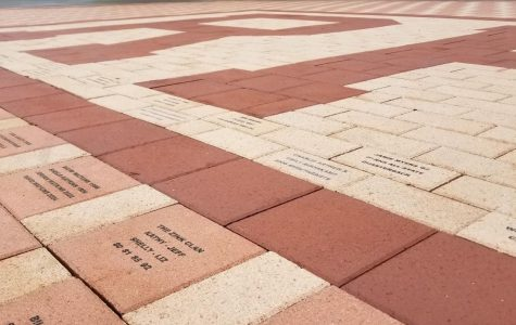 RHS' brick display is a dedication for past,  present students