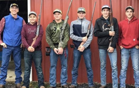 Trap shooting team shines in its season