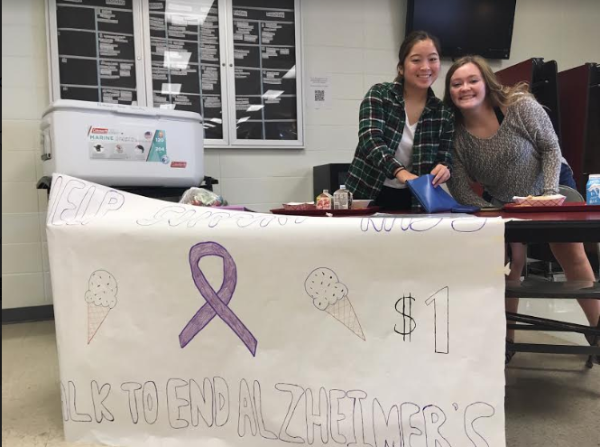 NHS End Alzheimer's Ice Cream Sales