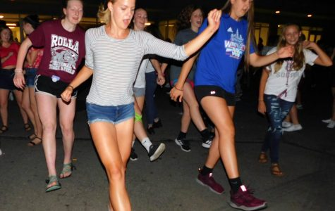 Students return with a street dance to raise funds for RHS 6th Man