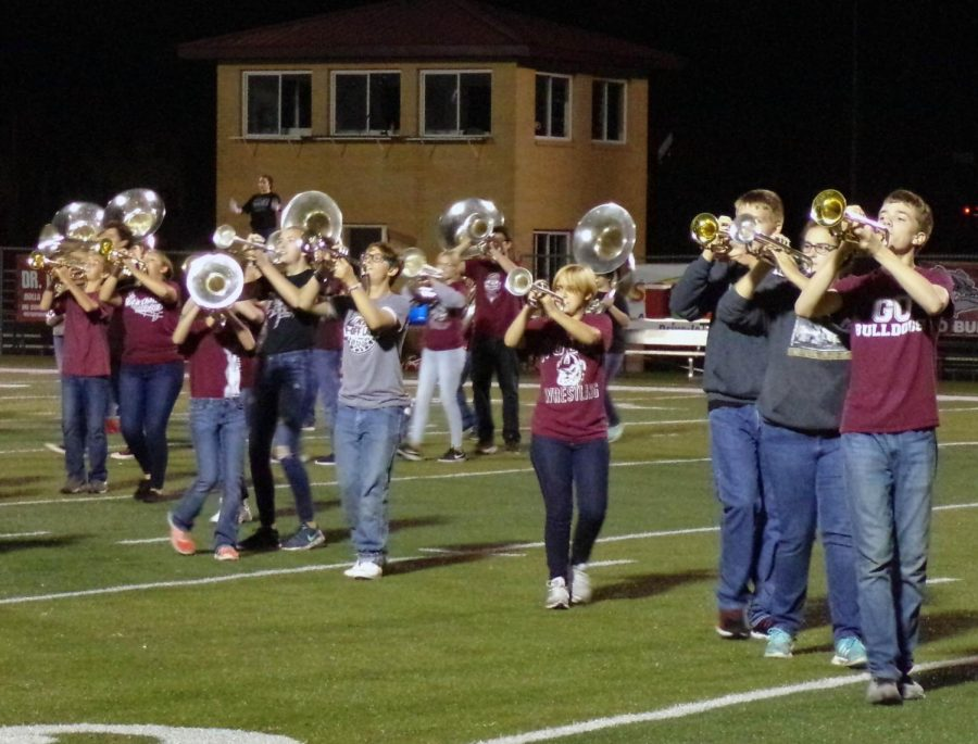 Band Senior Night During Pride Night Tonight