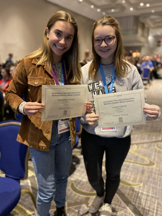 Two RHS student reporters win national awards